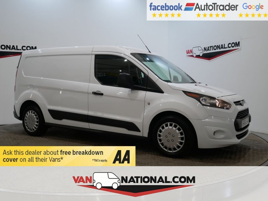 USED 2016 66 FORD TRANSIT CONNECT 1.5 210 TREND 100 BHP L2 LWB *EURO 6*3 SEATS* * ONE OWNER * EURO 6 * LWB * ZERO DEPOSIT FINANCE AVAILABLE *