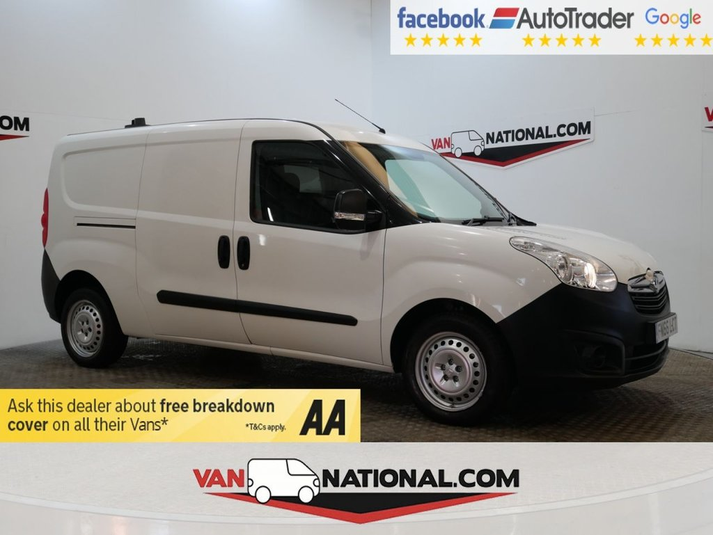 USED 2016 66 VAUXHALL COMBO VAN 1.3 2300 L2 H1 CDTI S/S ECOFLEX  *LWB *AIR CON*RACKING* * ONE OWNER * AIR CON * LWB * S/S * ZERO DEPOSIT FINANCE AVAILABLE *