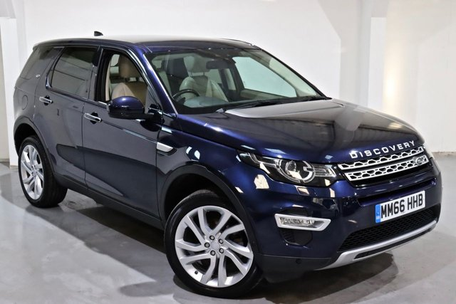 2016 66 LAND ROVER DISCOVERY SPORT 2.0 TD4 HSE LUXURY 5d 180 BHP