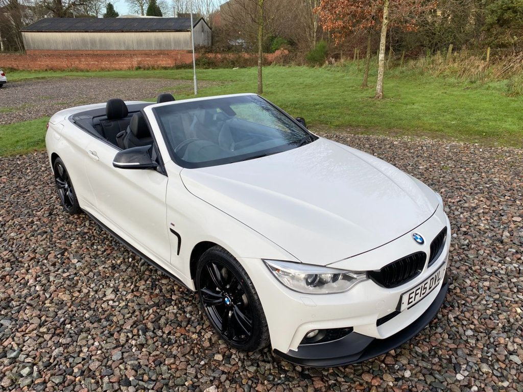 USED 2015 15 BMW 4 SERIES 3.0 435D XDRIVE M SPORT 2d 309 BHP Free Next Day Nationwide Delivery