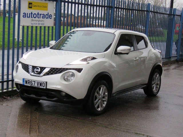 USED 2017 67 NISSAN JUKE 1.5 N-CONNECTA DCI 5dr 110 Sat nav Pan roof Bluetooth & audio Cruise Privacy glass Finance arranged Part exchange available Open 7 days ULEX Compliant