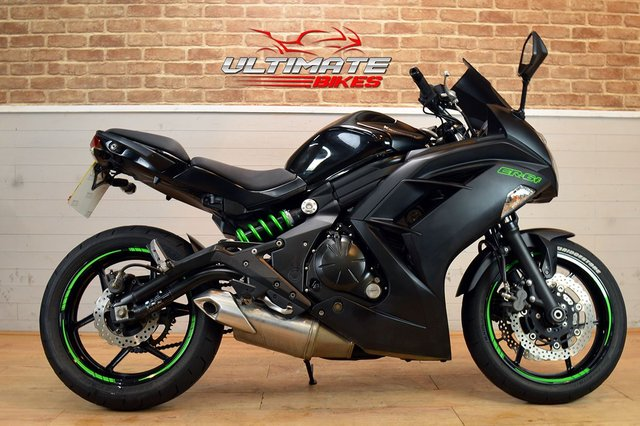 USED 2015 15 KAWASAKI ER-6F (EX650 EEF)  - FREE NATIONWIDE DELIVERY