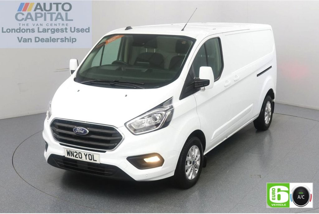 USED 2020 20 FORD TRANSIT CUSTOM 2.0 300 Limited EcoBlue 170 BHP L2 H1 Euro 6 Low Emission Finance Available Online   Eco Mode   Auto Start-Stop   Front and rear parking distance sensors