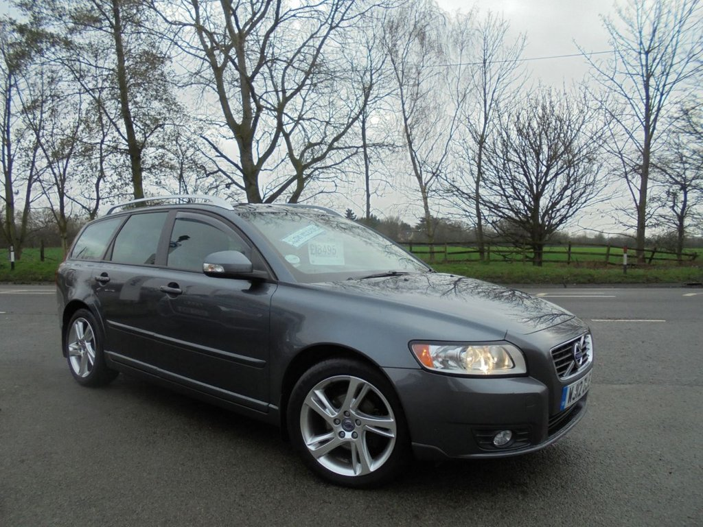 USED 2012 12 VOLVO V50 1.6 DRIVE SE LUX EDITION S/S 5d 113 BHP