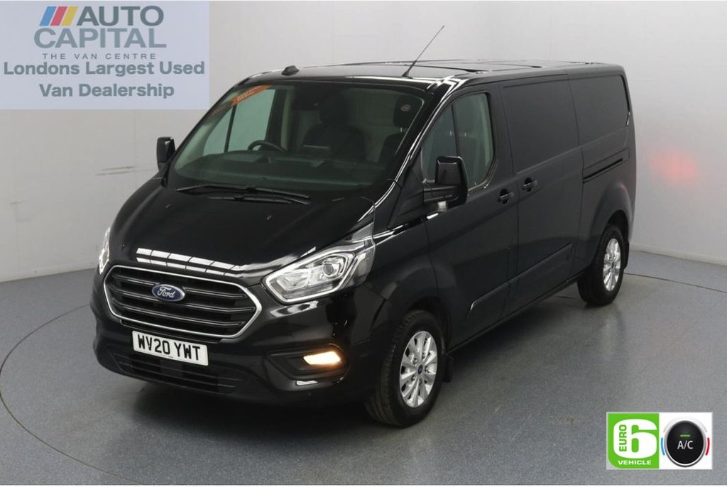 USED 2020 20 FORD TRANSIT CUSTOM 2.0 300 Limited EcoBlue 170 BHP L2 H1 Euro 6 Low Emission AppLink | Ford SYNC 3 | Apple CarPlay | Eco | Air Con | Start/Stop | F-R Sensors