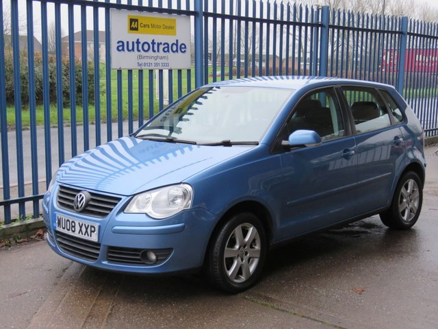 USED 2008 08 VOLKSWAGEN POLO 1.4 MATCH TDI 5dr 68 Air con Fogs Alloys Electric windows Part exchange available Open 7 days ULEZ Compliant