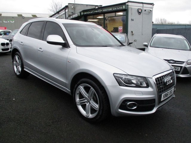 View our AUDI Q5 DIESEL ESTATE
