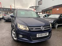 USED 2014 64 VOLKSWAGEN TIGUAN 2.0 R LINE TDI BLUEMOTION TECHNOLOGY 4MOTION 5d 139 BHP