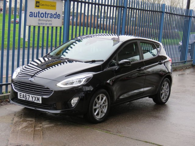 USED 2017 67 FORD FIESTA 1.1 ZETEC 5dr 85 Cruise DAB Alloys Bluetooth & audio Alloys Finance arranged Part exchange available Open 7 days ULEX Compliant
