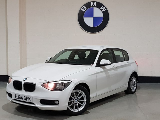 USED 2015 64 BMW 1 SERIES 1.6 116D EFFICIENTDYNAMICS BUSINESS 5d 114 BHP 2015 1 Previous Owner/ Heated Leather /Sat-Nav / £0 Road Tax