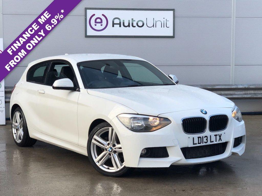 USED 2013 13 BMW 1 SERIES 1.6 116I M SPORT 3d 135 BHP ENHANCED BLUETOOTH | DAB RADIO | CRUISE CONTROL | AUTO LIGHTS & WIPERS | CLIMATE CONTROL