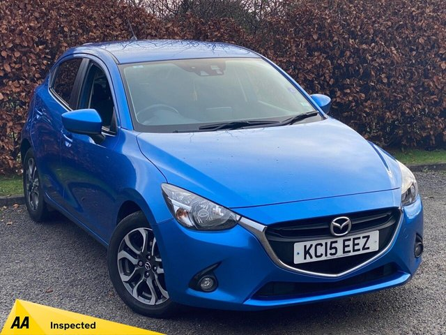 USED 2015 15 MAZDA 2 1.5 SPORTS LAUNCH EDITION 5d 89 BHP * 1 OWNER FROM NEW * LOW MILEAGE CAR * 12 MOMTHS FREE AA MEMBERSHIP *
