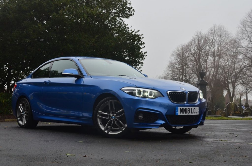 USED 2018 18 BMW 2 SERIES 1.5 218I M SPORT 2d 134 BHP