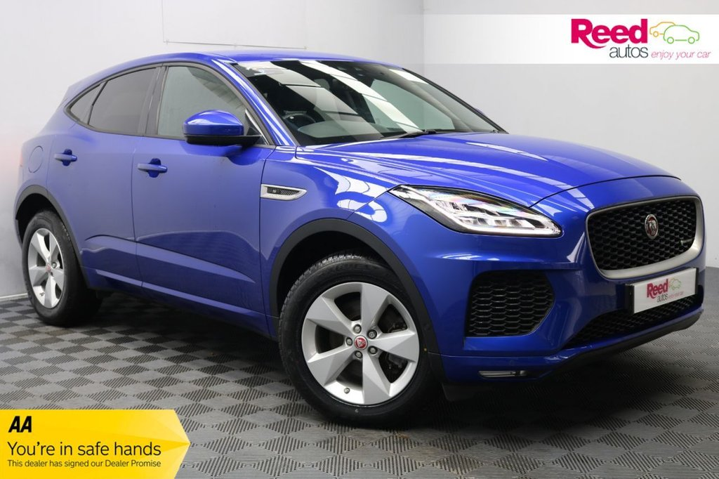 USED 2018 18 JAGUAR E-PACE 2.0 R-DYNAMIC S 5d 178 BHP 1 OWNER+FULL SERVICE HISTORY+CRUISE+LANE ASSIST+CONNECT PRO PACK