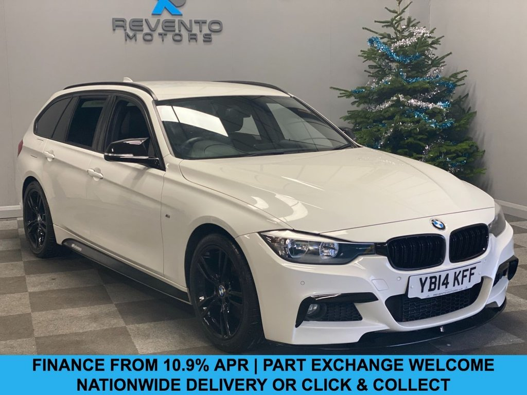 USED 2014 14 BMW 3 SERIES 3.0 330D M SPORT TOURING 5d 255 BHP CLICK/COLLECT | NATIONWIDE DELIVERY