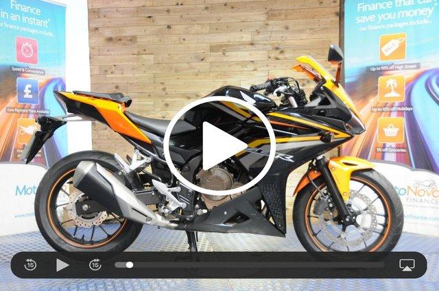 USED 2016 16 HONDA CBR500 471cc CBR 500 RA-G ABS