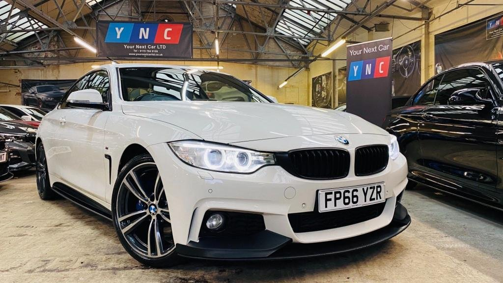 USED 2016 66 BMW 4 SERIES 2.0 420d M Sport Auto 2dr PERFORMANCEKIT+19S+PLUSPACK