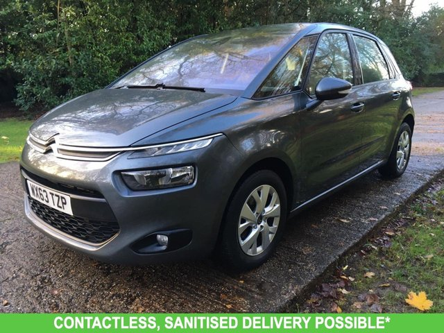 USED 2013 63 CITROEN C4 PICASSO 1.6 E-HDI AIRDREAM VTR PLUS ETG6 5d 113 BHP AUTOMATIC, AIR CON LOW MILEAGE FINANCE ME TODAY-UK DELIVERY POSSIBLE