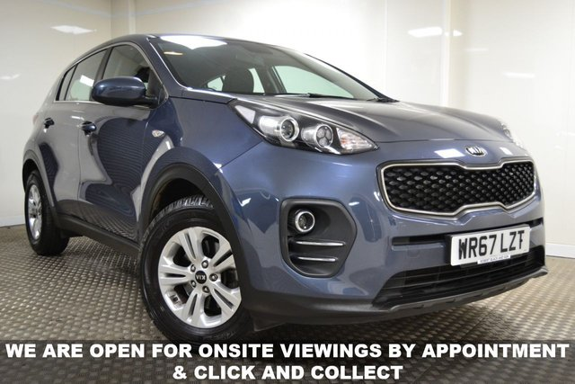 USED 2017 67 KIA SPORTAGE 1.6 1 ISG 5d 130 BHP **SPEICAL OFFER-2 YEARS FREE SERVICING WITH THIS CAR**