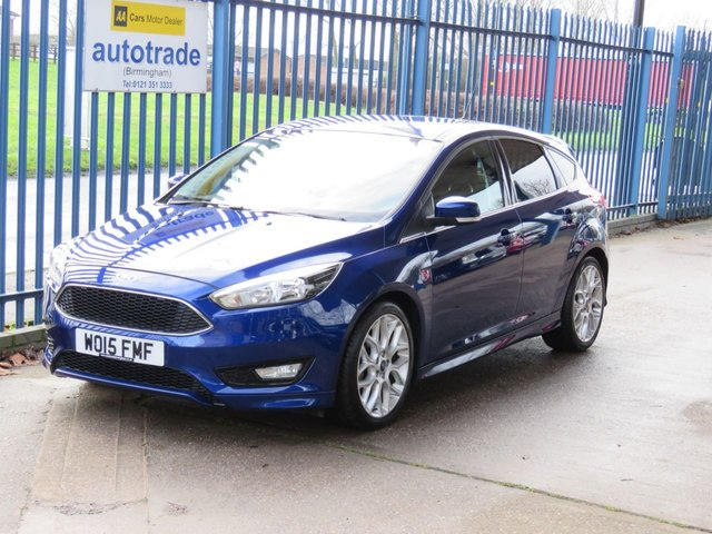 USED 2015 15 FORD FOCUS 1.0 ZETEC S 5dr 124 DAB Privacy Alloys Appearance pack Rear Spolier,Rear Privacy Glass,Alloys,History