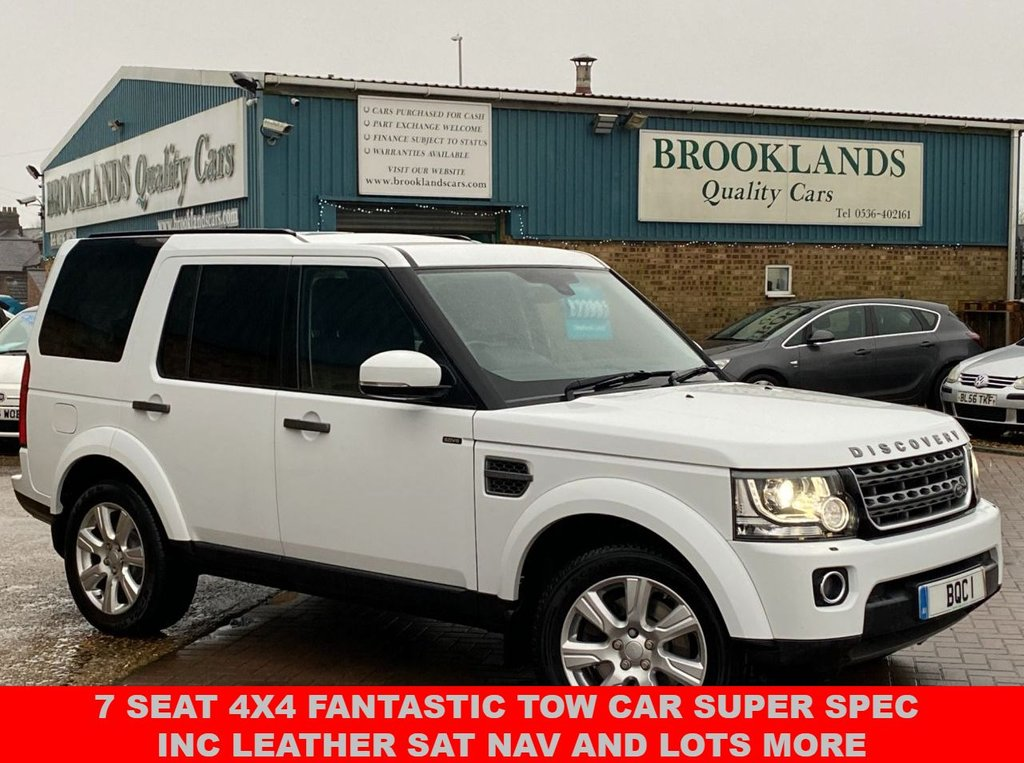 USED 2015 15 LAND ROVER DISCOVERY 3.0 SDV6 SE TECH 5d 255 BHP 7 Seat 4x4 Fantastic Tow Car Super Spec inc Leather SAT NAV And Lots More
