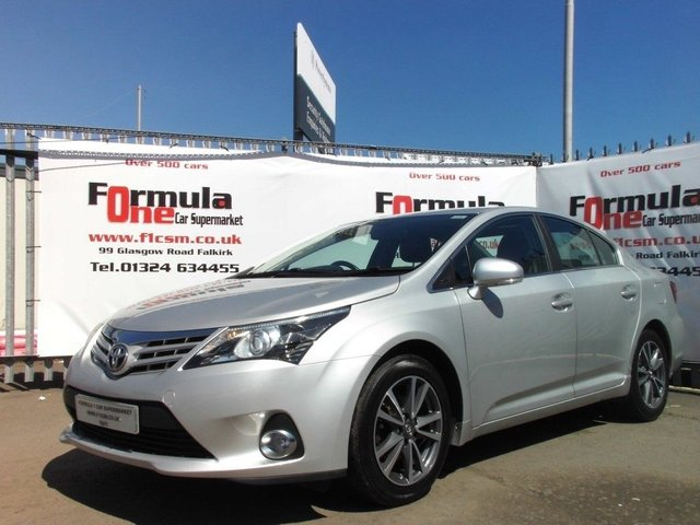 USED 2014 14 TOYOTA AVENSIS 2.0 D-4D ICON BUSINESS EDITION 4d 124 BHP 1 OWNER+FULL MOT+HISTORY+NAV