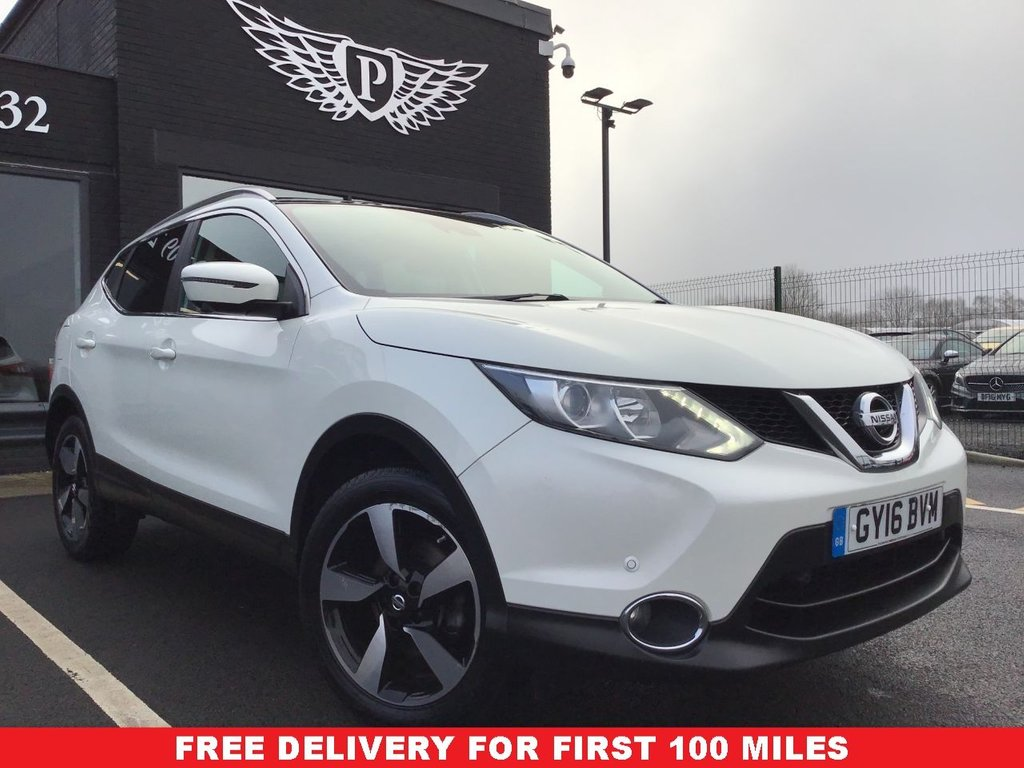 USED 2016 16 NISSAN QASHQAI 1.5 N-CONNECTA DCI 5d 108 BHP FREE DELIVERY* - FINANCE 5.9%