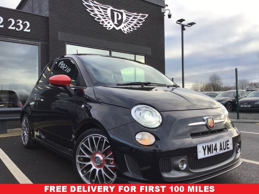 USED 2014 14 ABARTH 500 1.4 ABARTH 595 TURISMO 3d 160 BHP FINANCE RATES FROM 5.9%