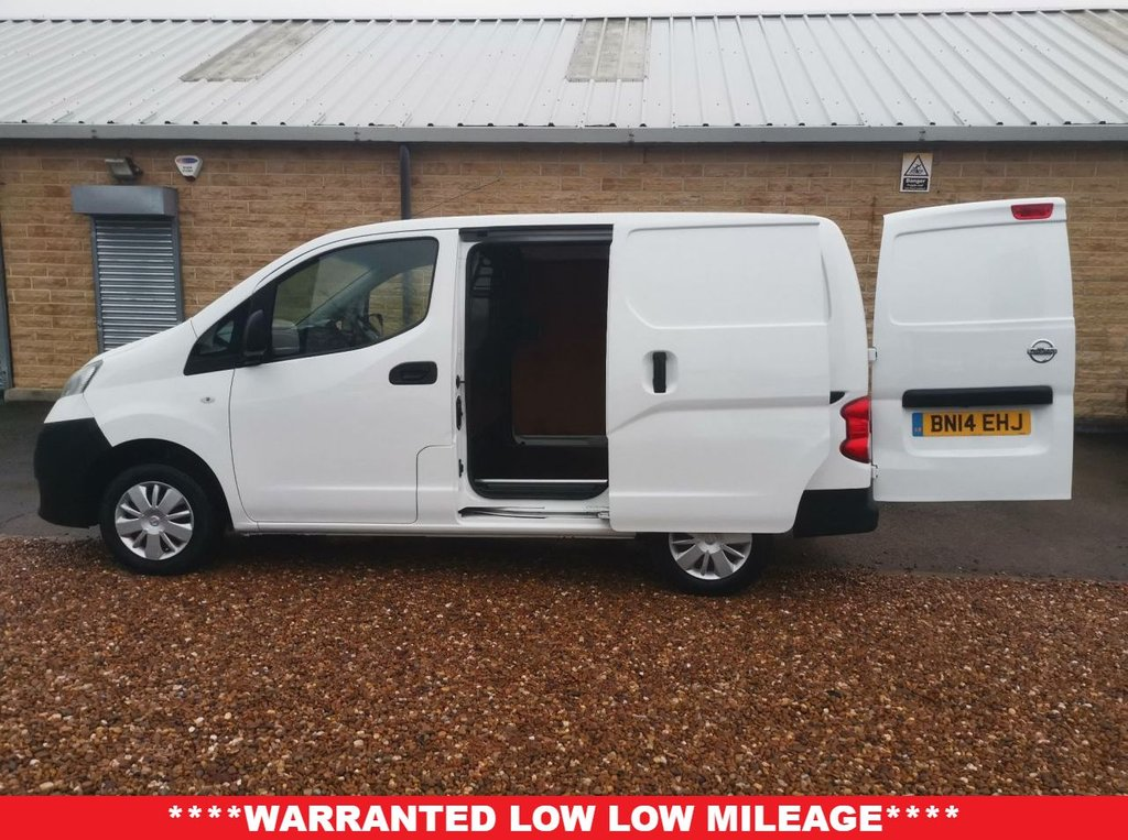 USED 2014 14 NISSAN NV200 1.5 DCI ACENTA 90 BHP