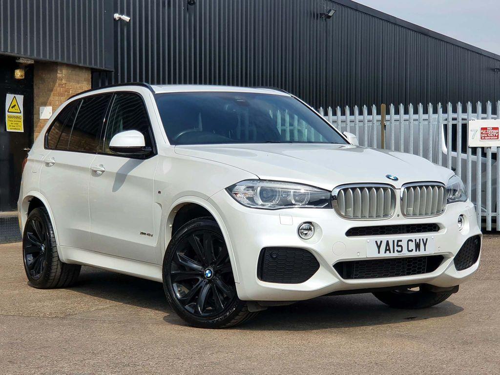 USED 2015 15 BMW X5 3.0 XDRIVE 40D M SPORT 5d 309 BHP PRO NAV|HEATED SEATS|360 CAM
