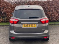 USED 2012 62 FORD C-MAX 1.6 TITANIUM 5d 148 BHP * 12 MONTHS AA BREAKDOWN COVER * IDEAL FAMILY CAR *
