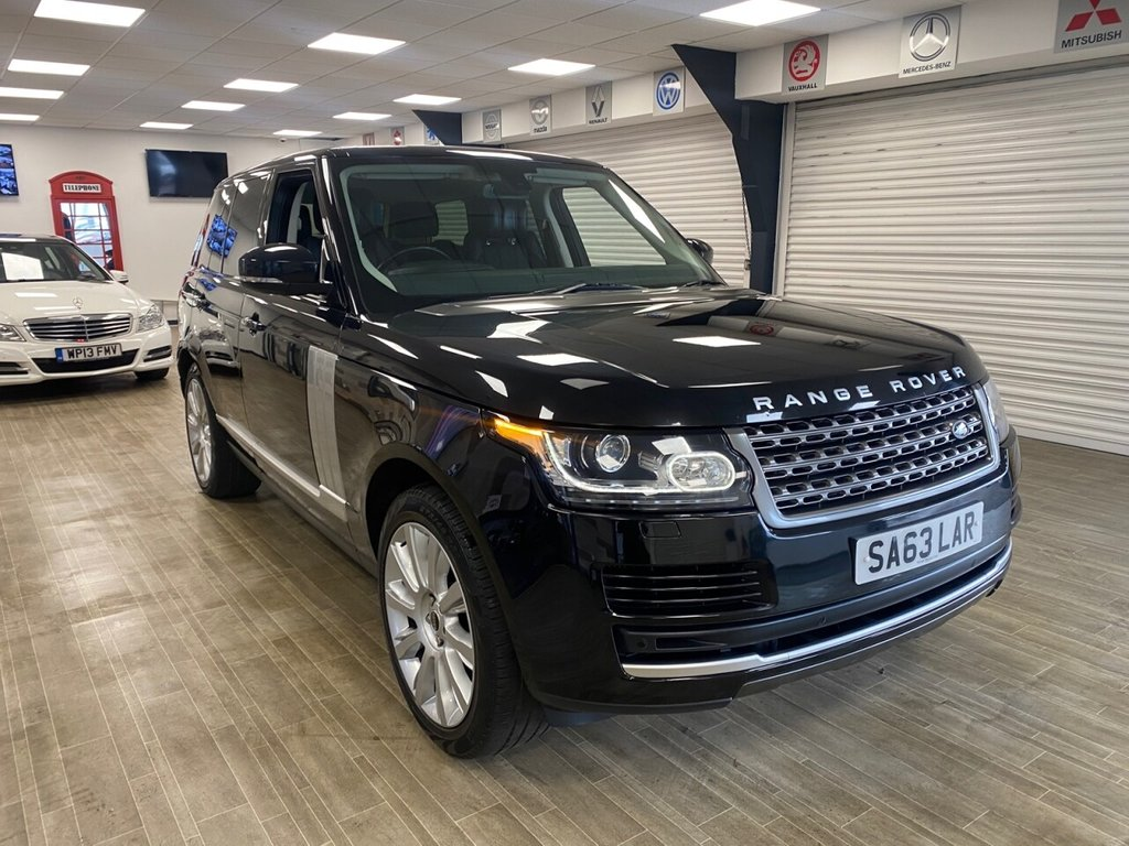 USED 2013 63 LAND ROVER RANGE ROVER 3.0 TDV6 VOGUE 5d 258 BHP FREE HOME DELIVERY CONTACTLESS CALL US ON 07785902621 AFTERHOURS