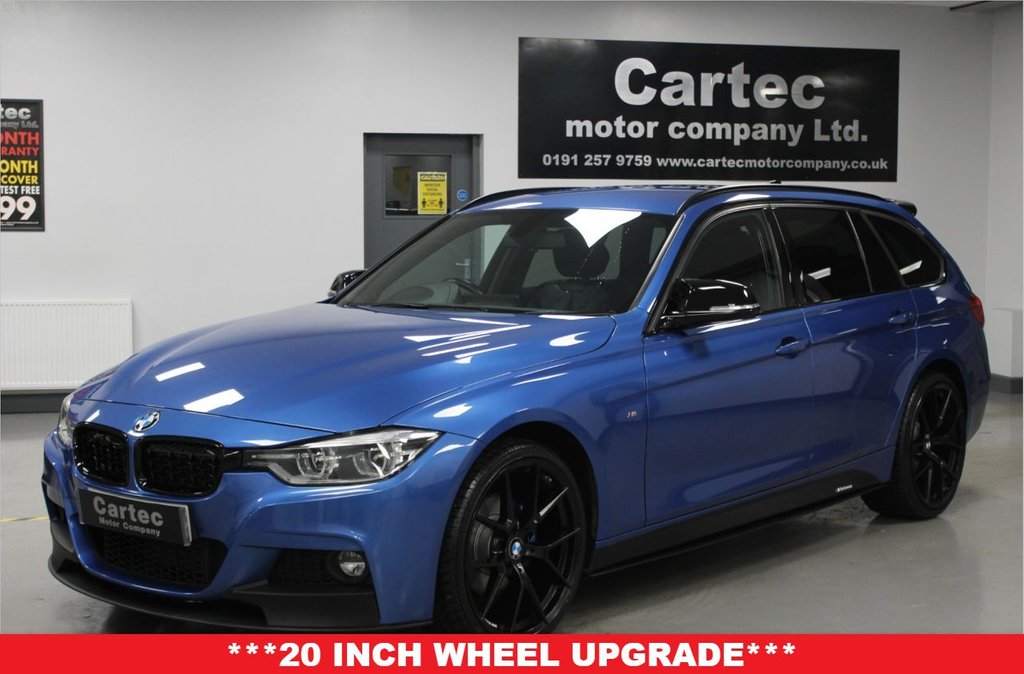 USED 2018 68 BMW 3 SERIES 2.0 320D XDRIVE M SPORT TOURING 5d 188 BHP ****FULL SERVICE HISTORY****