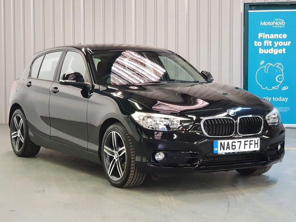 USED 2017 67 BMW 1 SERIES 1.5 118I SPORT 5d 134 BHP SAT-NAV DAB CRUISE CONTROL