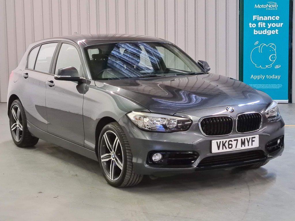 USED 2017 67 BMW 1 SERIES 2.0 118D SPORT 5d 147 BHP SAT-NAV AIRCON KEYLESS GO DAB