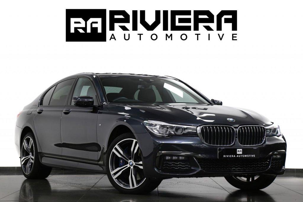 USED 2018 68 BMW 7 SERIES 3.0 740D XDRIVE M SPORT 4d 315 BHP
