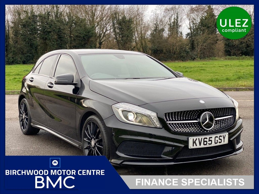USED 2015 65 MERCEDES-BENZ A-CLASS 2.1 A220 CDI AMG NIGHT EDITION 5d 168 BHP, Ulez Compliant
