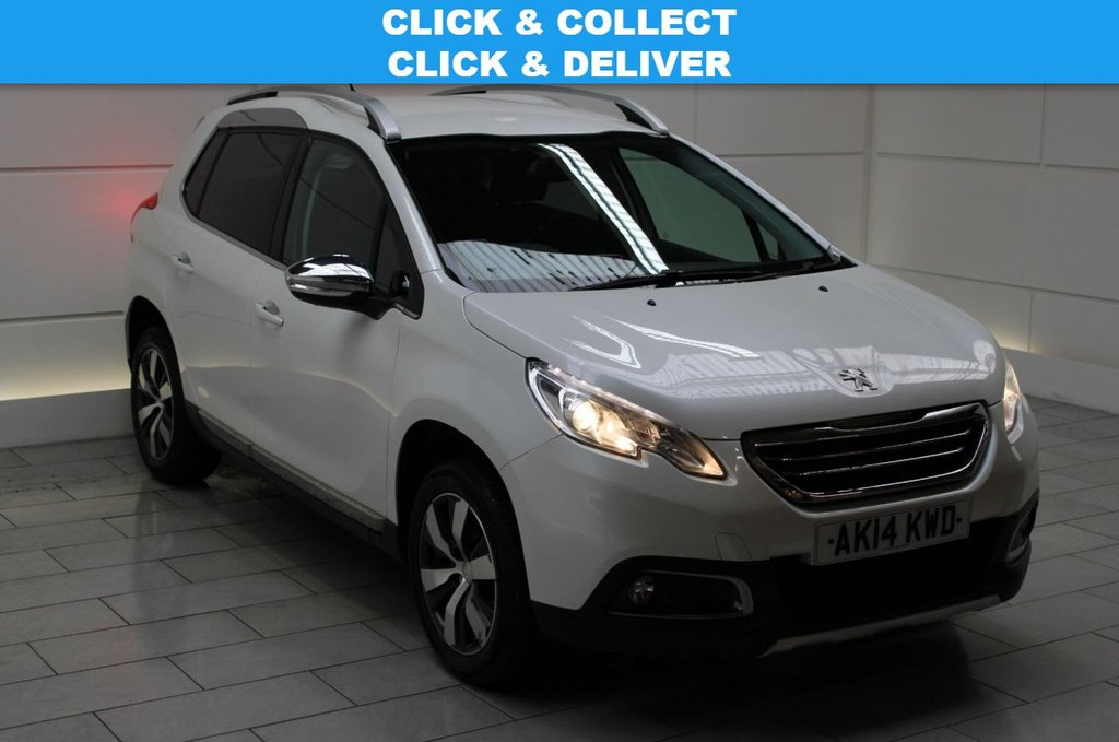 USED 2014 14 PEUGEOT 2008 1.6 e-HDi Allure (start/stop)