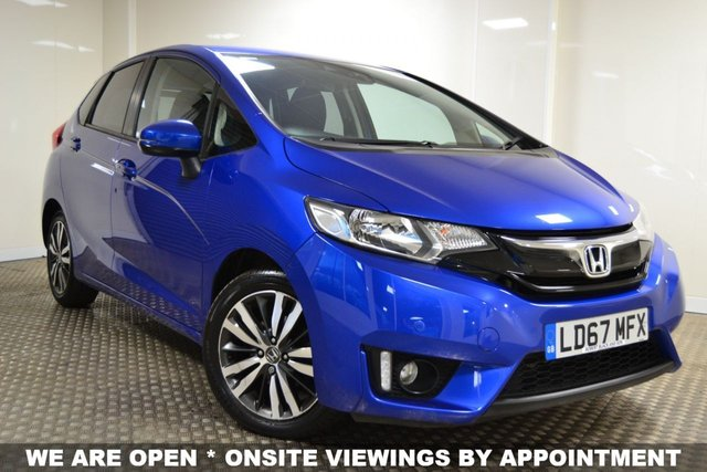 USED 2017 67 HONDA JAZZ 1.3 I-VTEC EX 5d 101 BHP STUNNING JAZZ AUTO IN SPORTY BLUE