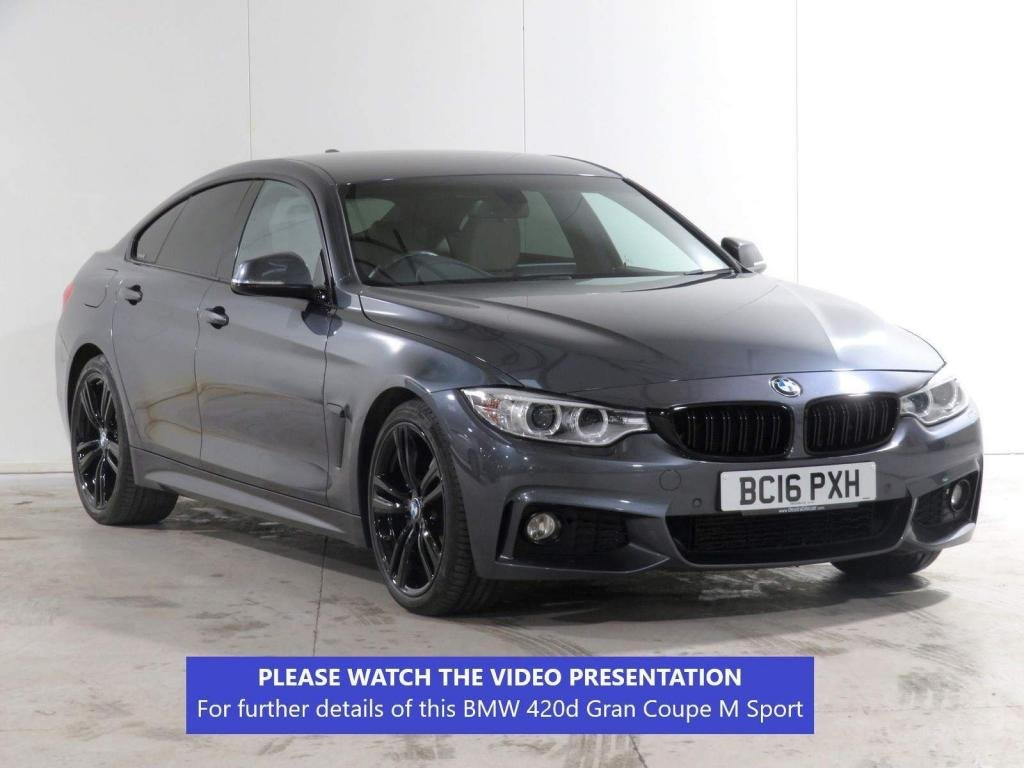 USED 2016 16 BMW 4 SERIES GRAN COUPE 2.0 420d M Sport Gran Coupe Auto (s/s) 5dr ADAPTIVE-SUSPENSION**PLUS-PACK