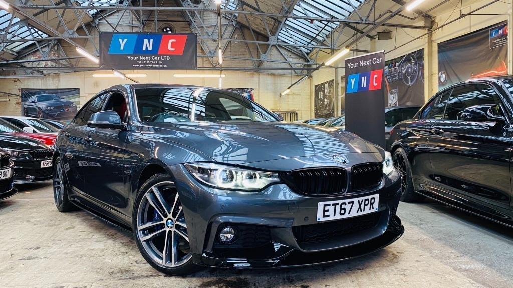 USED 2018 67 BMW 4 SERIES 3.0 440i M Sport Gran Coupe Auto (s/s) 5dr PERFORMANCEKIT+MPLUSPACK+19S