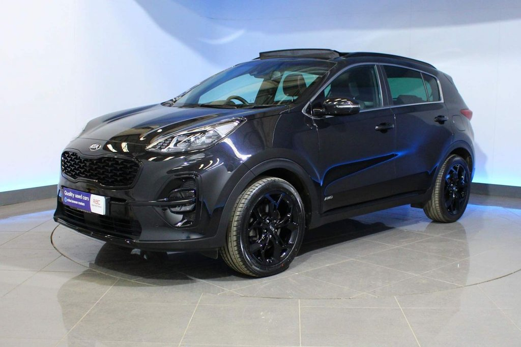 USED 2019 69 KIA SPORTAGE 1.6 T-GDi GT-Line S DCT AWD (s/s) 5dr BLACK EDITION EXTERIOR TRIM