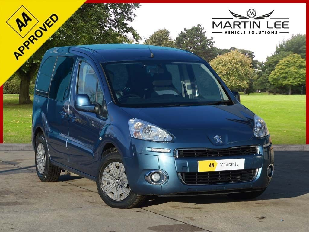 USED 2013 13 PEUGEOT PARTNER 1.6 HDI TEPEE S 5d 92 BHP PROFESSIONAL WHEELCHAIR ADAPTATION
