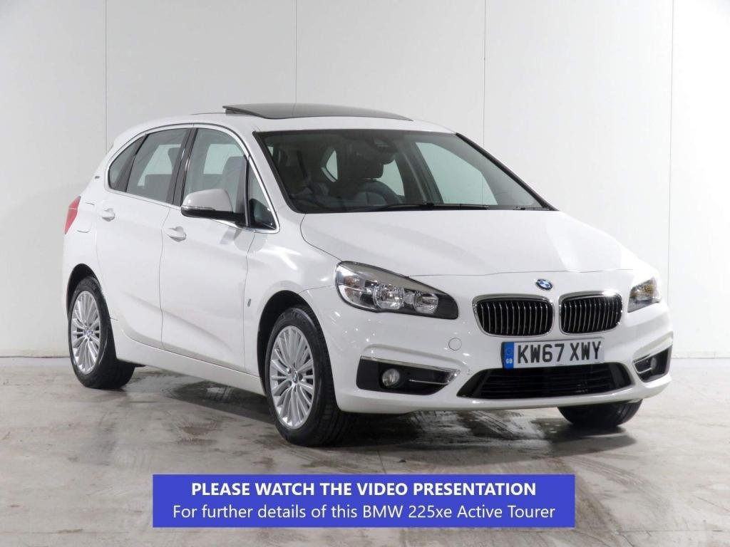USED 2017 67 BMW 2 SERIES ACTIVE TOURER 1.5 225xe 7.6kWh Luxury Active Tourer Auto 4WD (s/s) 5dr NAV PLUS PACK*PANO ROOF*CAMERA