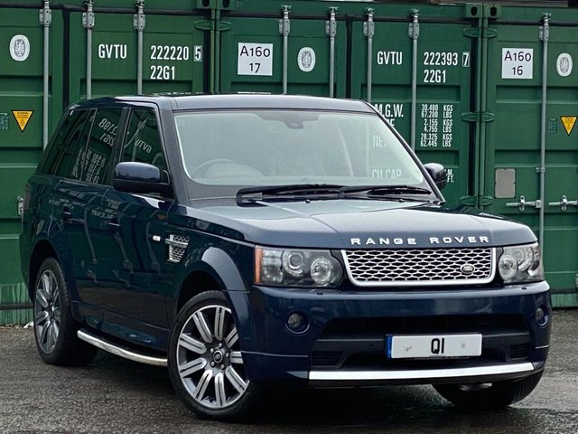 USED 2012 62 LAND ROVER RANGE ROVER SPORT 3.0 SD V6 Autobiography Sport 4X4 5dr