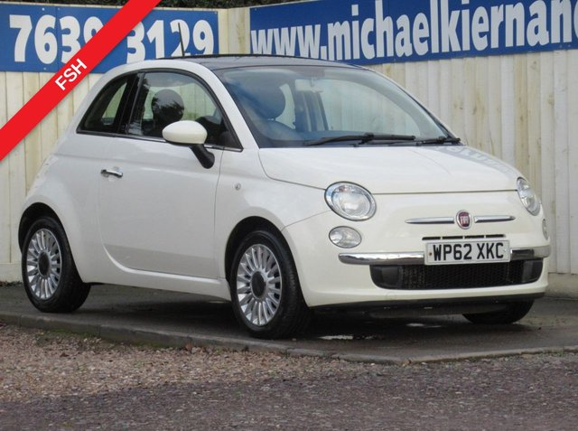 USED 2013 62 FIAT 500 1.2 LOUNGE 3d 69 BHP VERY GOOD CONDITION THROUGHOUT