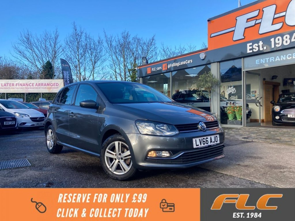 USED 2016 66 VOLKSWAGEN POLO 1.0 MATCH 5d 60 BHP