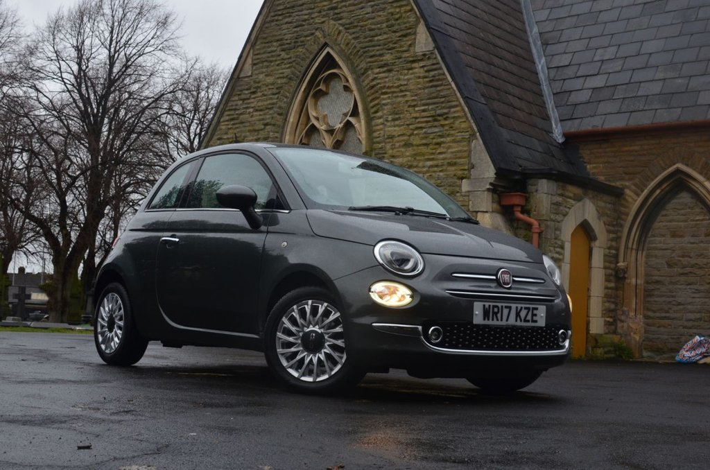 USED 2017 17 FIAT 500 1.2 LOUNGE 3d 69 BHP Buy Online. Nationwide Delivery