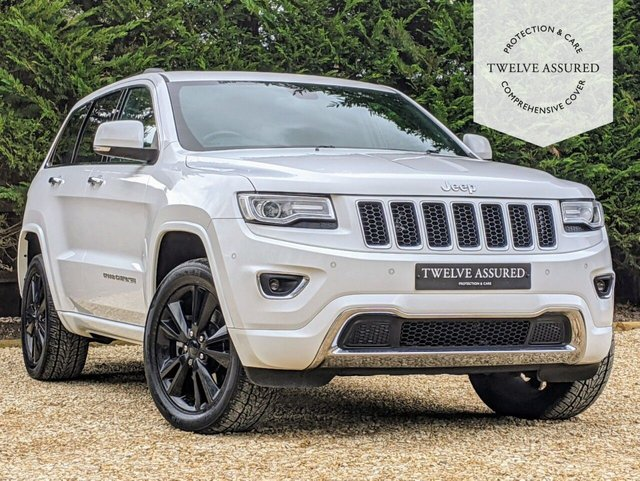 USED 2016 16 JEEP GRAND CHEROKEE 3.0 V6 CRD OVERLAND 5d AUTO 247 BHP (PANORAMIC ROOF & JEEP HISTORY)