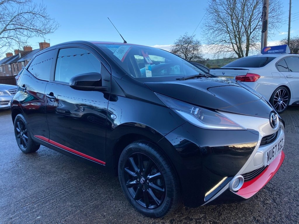 USED 2017 67 TOYOTA AYGO 1.0 VVT-I X-PRESS 5d 69 BHP * 1 OWNER * REAR CAM * BLUETOOTH * STUNNING THROUGHOUT *